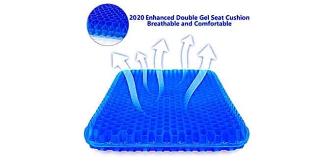 SUPTEMPO Enhanced - Gel Seat Cushion