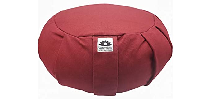 Waterglider International Zafu - Large Yoga Meditation Pillow