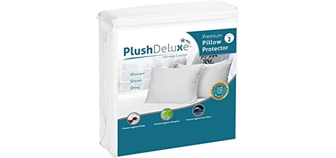 Plush Deluxe Waterproof - Pillow Protectors & Pillowcases
