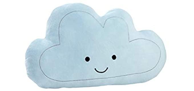 NoJo Charming - Plush Cloud Shaped Pillow