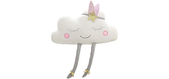 Nooer Plush - White Soft Cloud Pillow