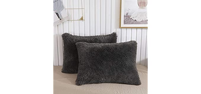 XeGe Shaggy - Velvet Fur Pillow Covers