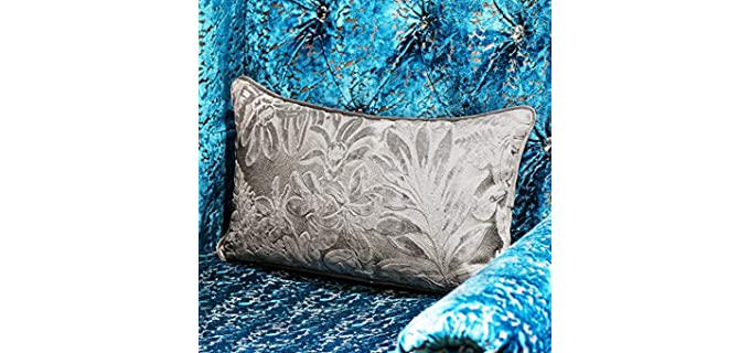 Alerfa Maple Leaf - Embroidered Pillow Covers