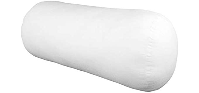 Hometex High-Quality - Plush Bolster Pillow Inserts
