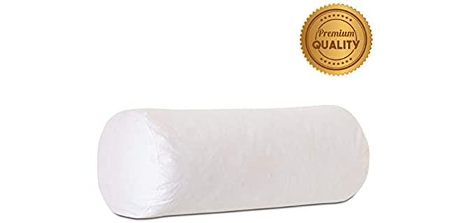 Plankroad Luxury - Cotton Bolster Pillow Insert