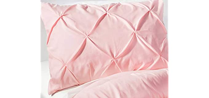Beddingstar Pleated - Queen Pillow Sham