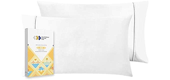 Calefornia Design Den Natural - Acne Pillowcase