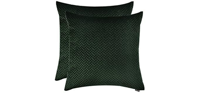 Artcest Decorative - Velvet Throw Pillow Case