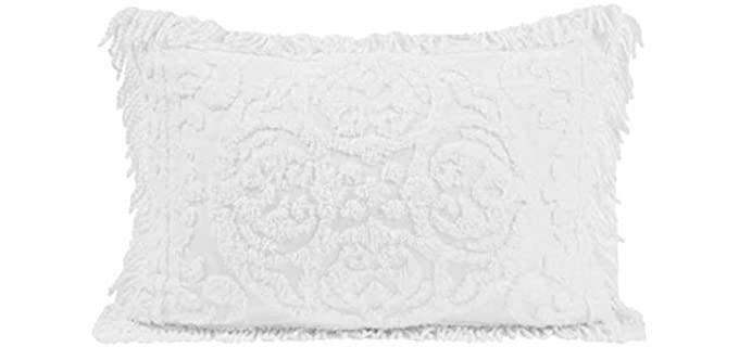 Beatrice Home Fashions Medallion Chenille - Pillow Sham