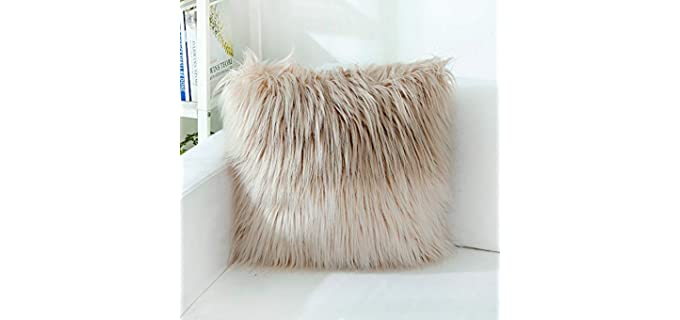OJIA Deluxe - Faux Fur Throw Pillow