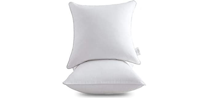 Oubonun Cotton - Throw Pillow Inserts