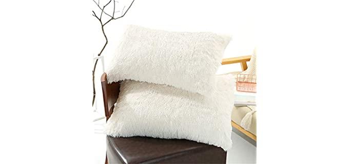 Tenghe Plush - Faux Fur Pillow Shams