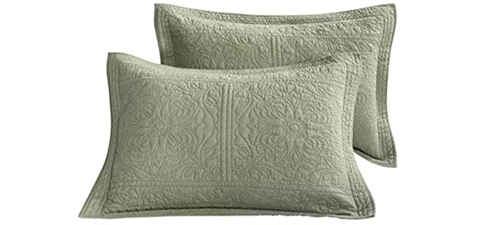 WINLIFE Store Quilted - Pillow Sham
