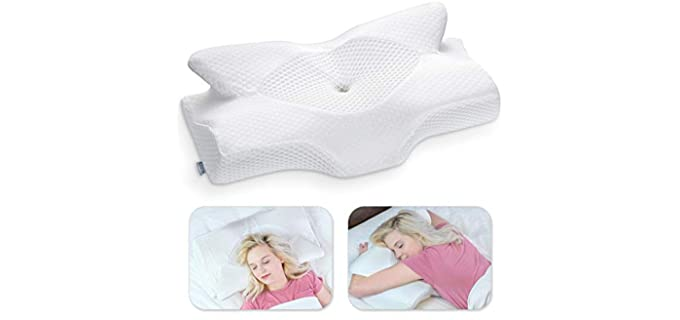 Elviros Store cervical - Neck Support Pillow