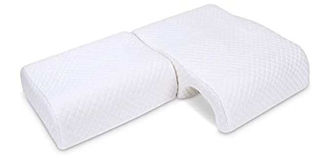 Homca Couples - Arm Sleeping Pillow for Couples