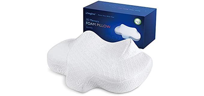 Sagino cervical - Back and Neck Pain Pillow for Side Sleepers