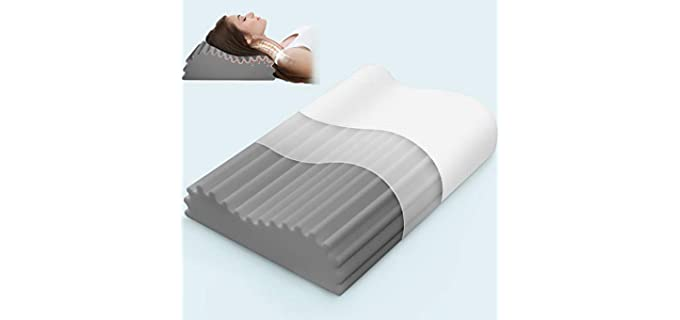 Swilow Memory Foam - Neck Arthritis Pillow