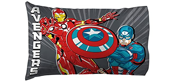 Jay Franco Super Soft - Marvel Avengers Pillowcase