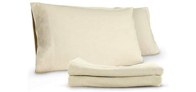 Whisper Organics Organic - Cotton Flannel Pillowcases