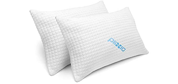 Plixio Ultra Plush -  Hypoallergenic Bamboo Pillows