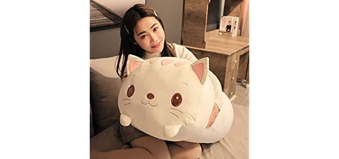 Jensquaify Cat - Stuffed Animal Pillow
