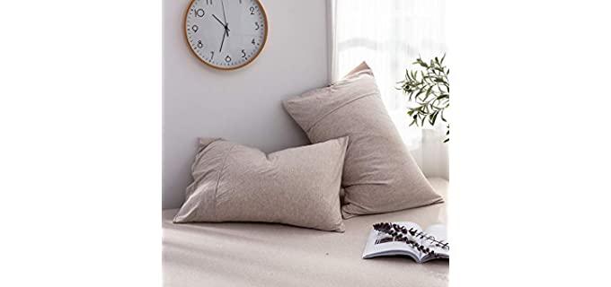 DONEUS Standard - Jersey Knit Pillow Case
