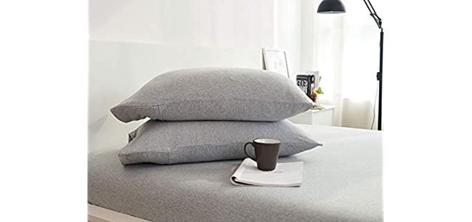 Dreamfine Envelope Closure - Jersey Pillowcase