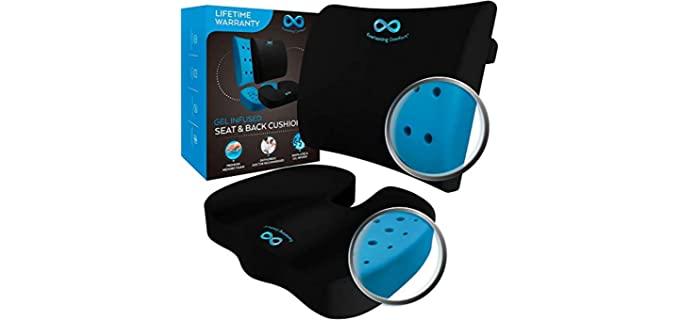 Everlasting Comfort Portable - Memory Foam Sciatica Pillow