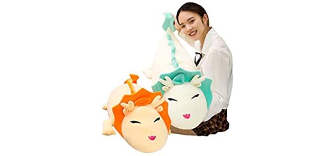 Hofun4U Giant Dragon - Fluffy Animal Body Pillow