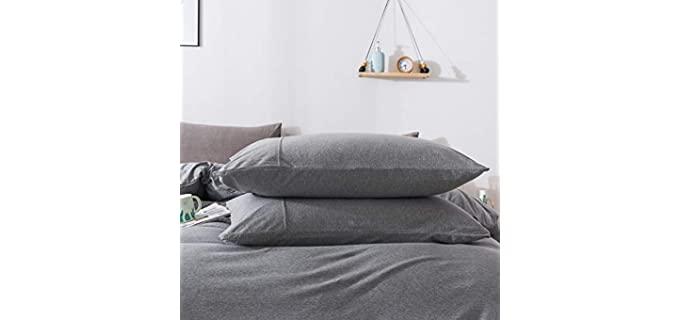 H HOUSEHOLD Cotton - Lightweight Pillowcase