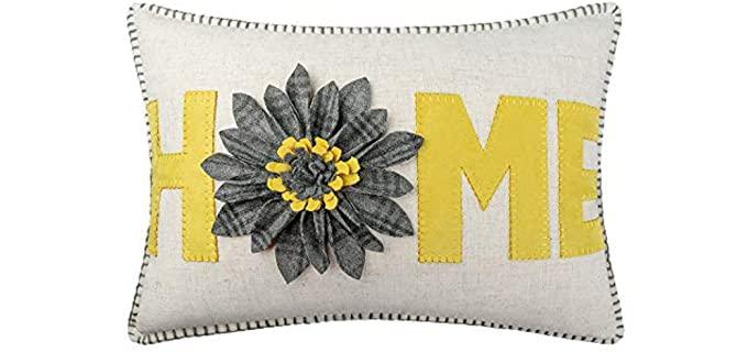 JWH 3-D - Wool Decorative Pillow Case