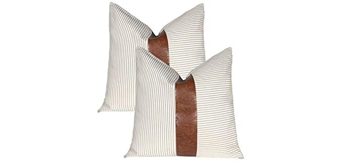 Kiuree  Boho - Farmhouse Pillow Covers
