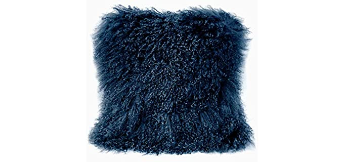 KumiQ Sheepskin - Curly Wool Pillow