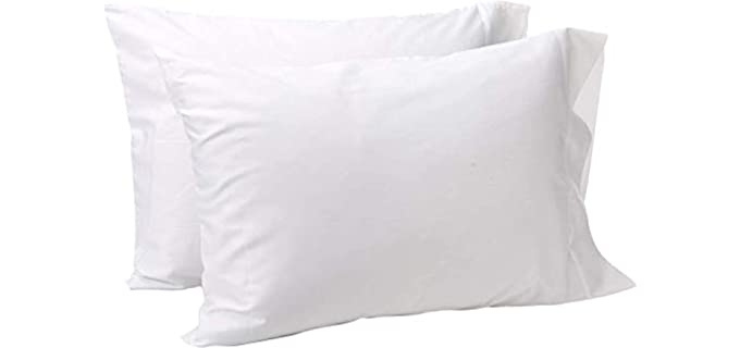 Lasimonne Luxury - White Percale Pillowcases