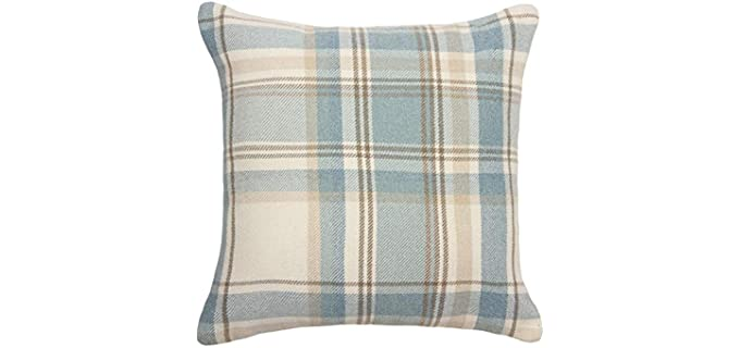 McAlister Square - Wool Plaid Pillow Case