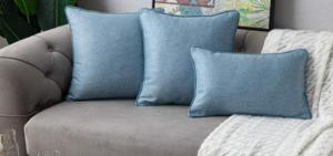 Denim Pillow Covers