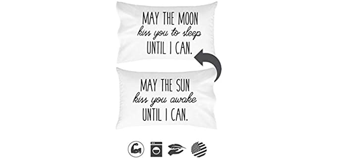 Oh, Susannah Printed Quote - Couple Pillow Cases