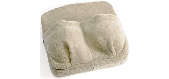 Ideas in Life Vibrating - Foot Massaging Pillow