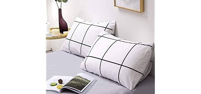 Karever Plaid - Cotton Pillowcases