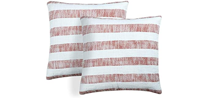 Unity Home Contemporary - Striped Pillow Cases