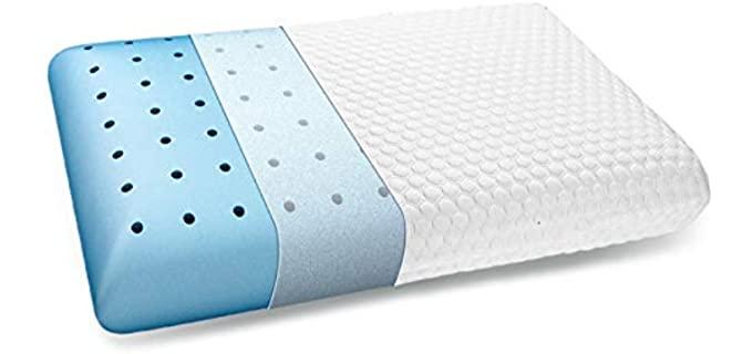 Inight Memory Foam - Stomach Sleeper Pillow