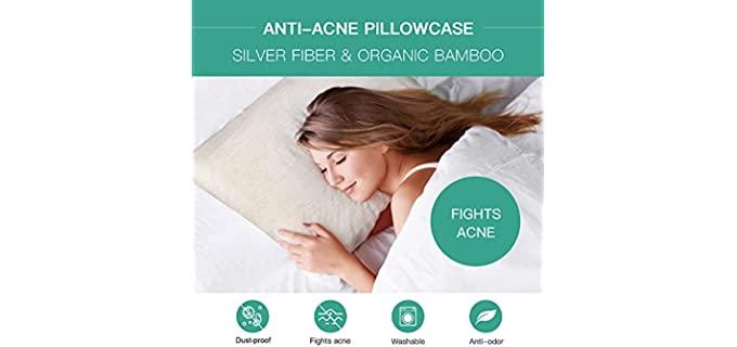 N/P Silver Technology - Anti Acne Pillowcase